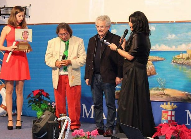 Premio Rubens a Città della Notte per gli 80 anni di Ribaudo