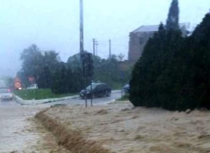 Il fiume Verdura minaccia Ribera, chiusa la strada Statale 115