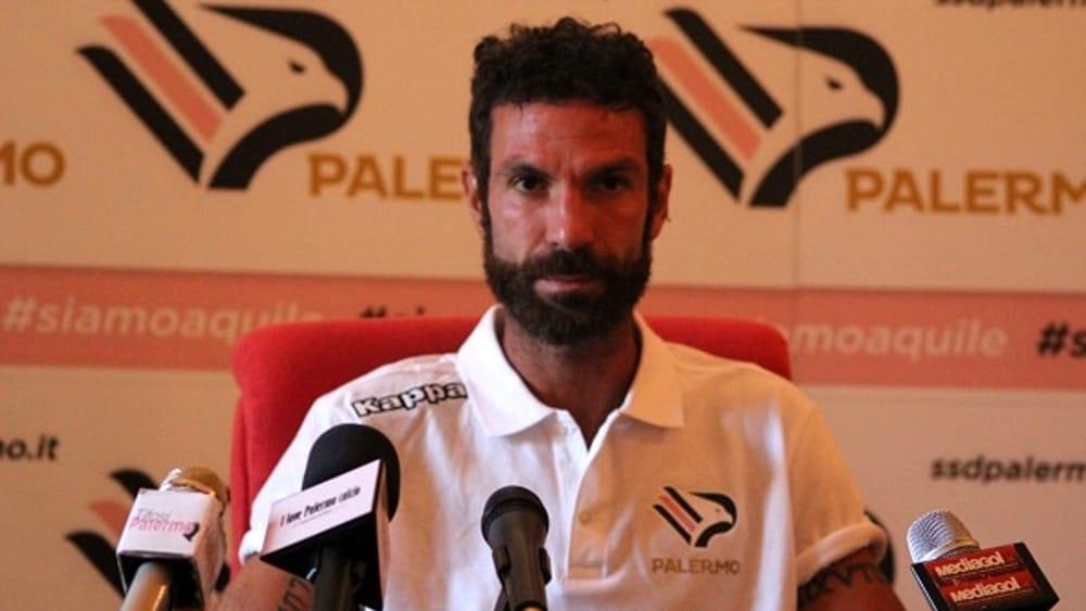 """Ricciardo avverte il suo Palermo: """"In serie D serve la cattiveria giusta"""""""