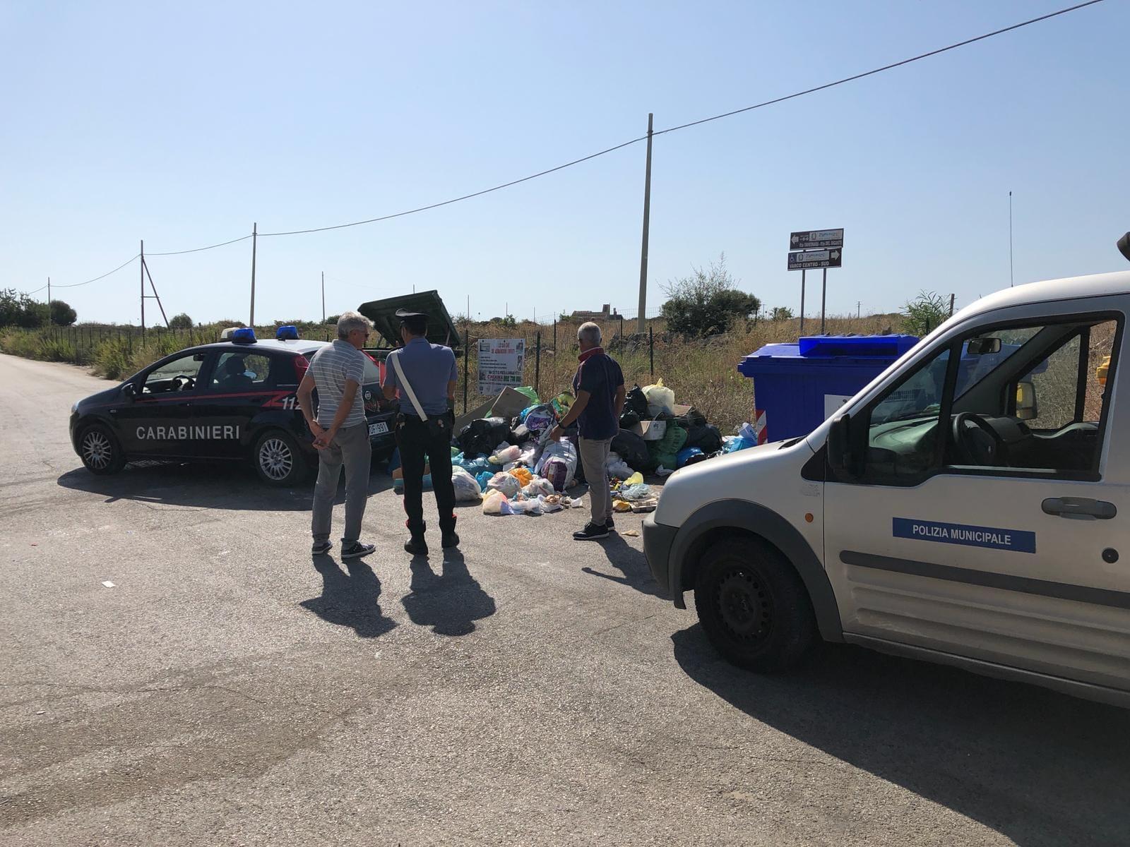 Abbandono rifiuti, Siracusa nel mirino dei carabinieri