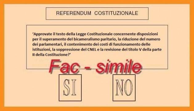 Vittoria, riforma costituzionale: esperti a confronto sul voto del 4 dicembre