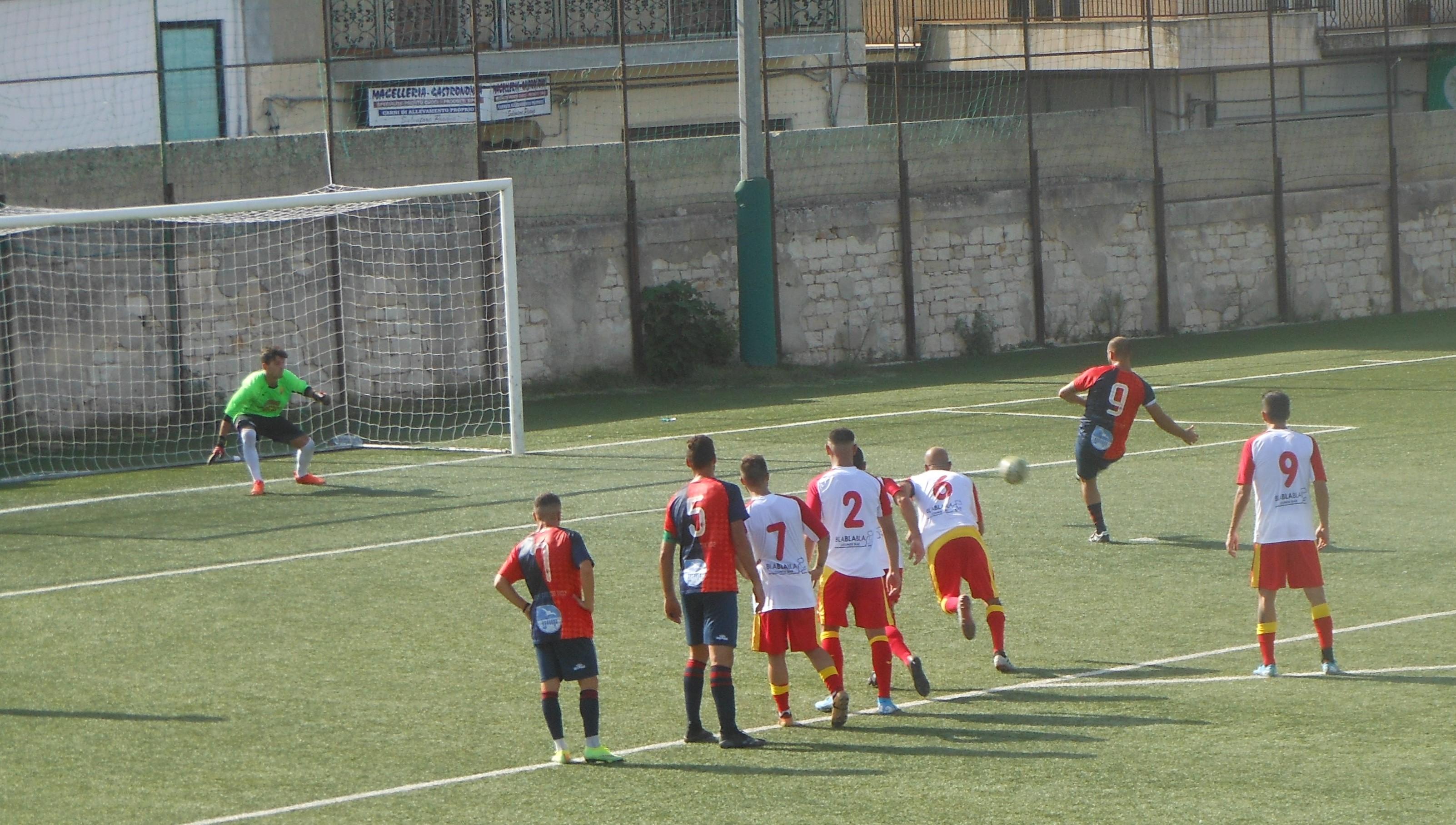 Calcio, Coppa Italia Promozione: il Modica si impone al Canicattini ( 2 a 0 ) con reti di Vicari e Iurato. Il Frigintini battuto a Vittoria, doppietta di Rizzo