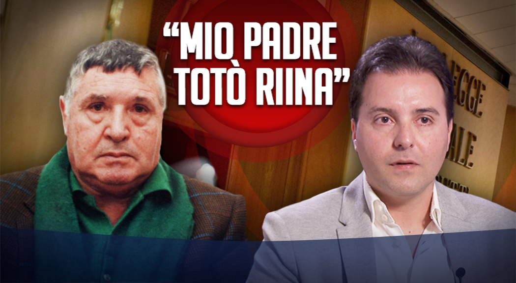 """Mafia, Riina jr posta su Facebook: """"Mio papà è famoso"""""""