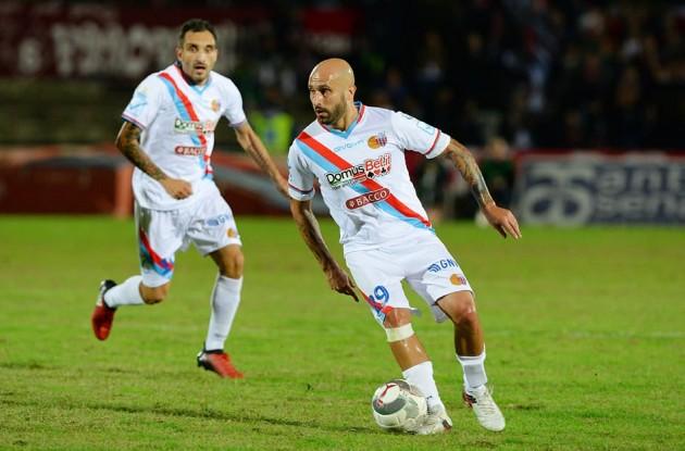 Play off di C, il Catania sotto di un gol ottiene il pari col Feralpisalò