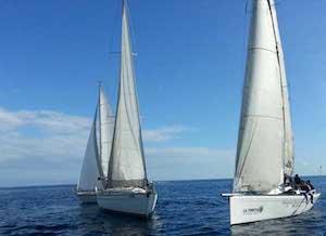 """L' equipaggio """"Nopaquie"""" di Catania, vince la regata di Riposto"""