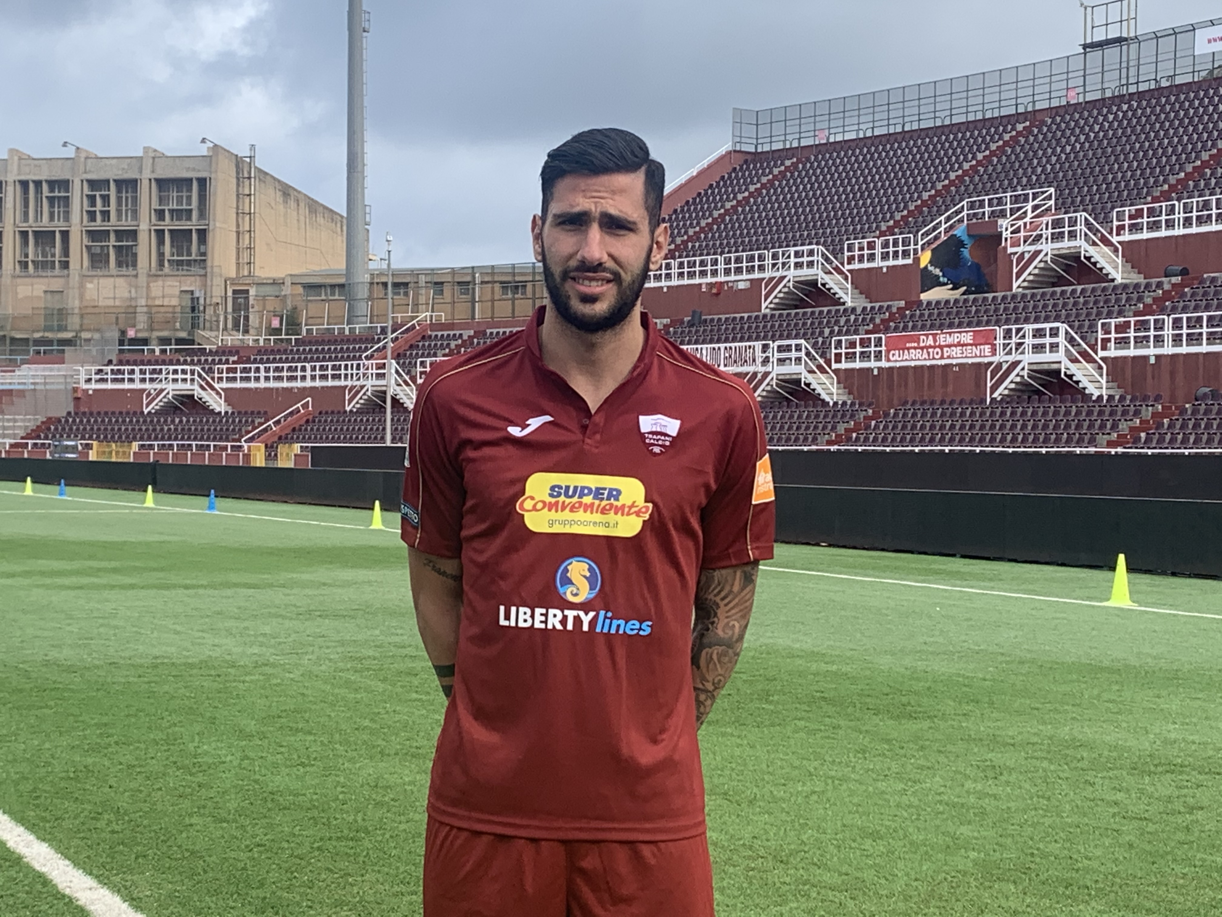 Un difensore per rafforzare il Trapani: in prestito dall'Empoli Roberto Pirrello