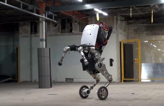 Google svela il robot 'Handle': le acrobazie in un video su Youtube