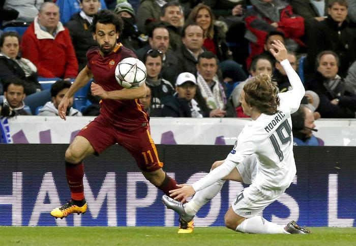 Il Real Madrid batte la Roma 2 a 0, giallorossi fuori dalla Champions