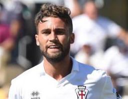 L'ex Juve Fausto Rossi in maglia granata
