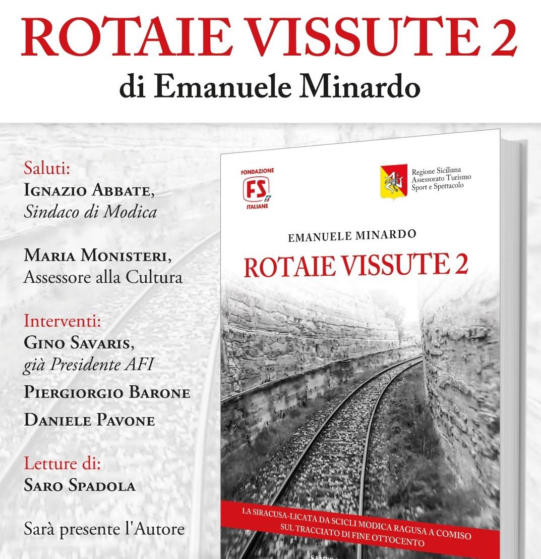 Modica, al Palazzo della cultura si presenta libro di Emanuele Minardo