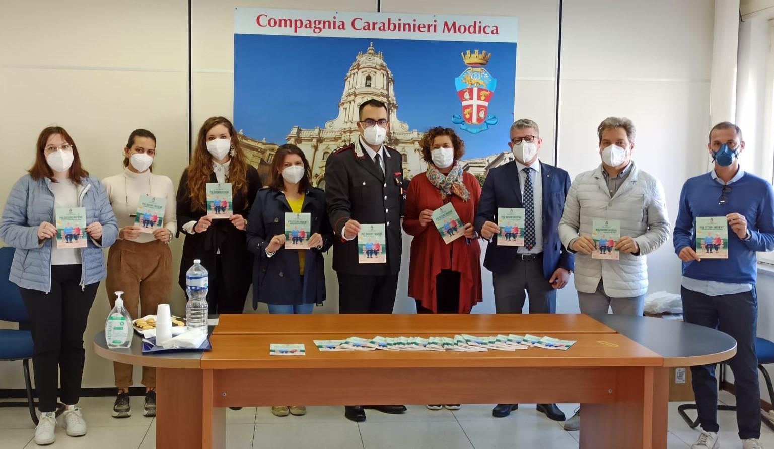Modica, vademecum di Carabinieri e Rotary: come difendersi dalle truffe agli anziani