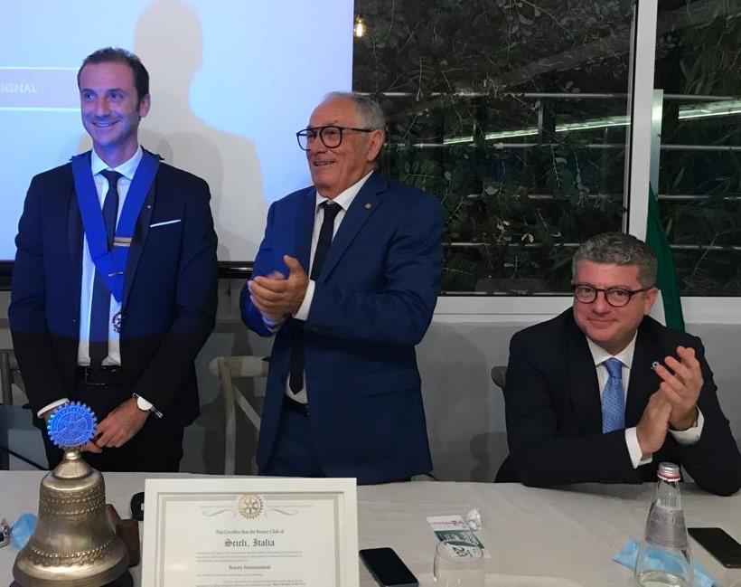 Scicli, Alessandro Guarino nuovo presidente del Rotary Club