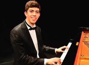Siracusa, concerto al Salone Carabelli di Ruben Micieli
