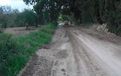 Maltempo, disposti lavori urgenti su tre strade provinciali
