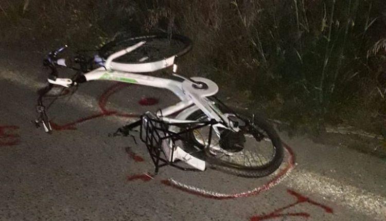 Ciclista travolto e ucciso da un'auto pirata sulla strada Scoglitti - Santa Croce