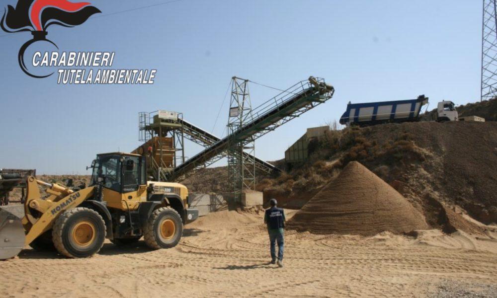 Sequestrata dal Noe ad Acate una cava abusiva di sabbia marina