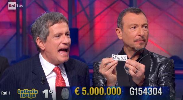 Lotteria Italia bacia il Sud, 5 milioni di euro a Sala Consilina
