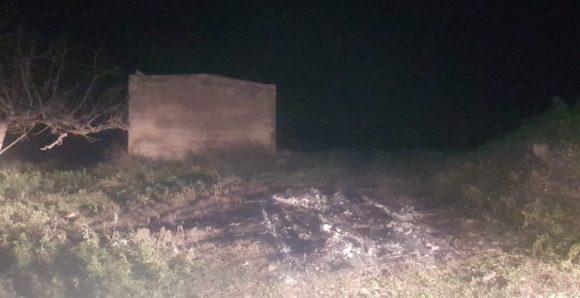 Cadavare carbonizzato trovato in un'auto bruciata a Salemi