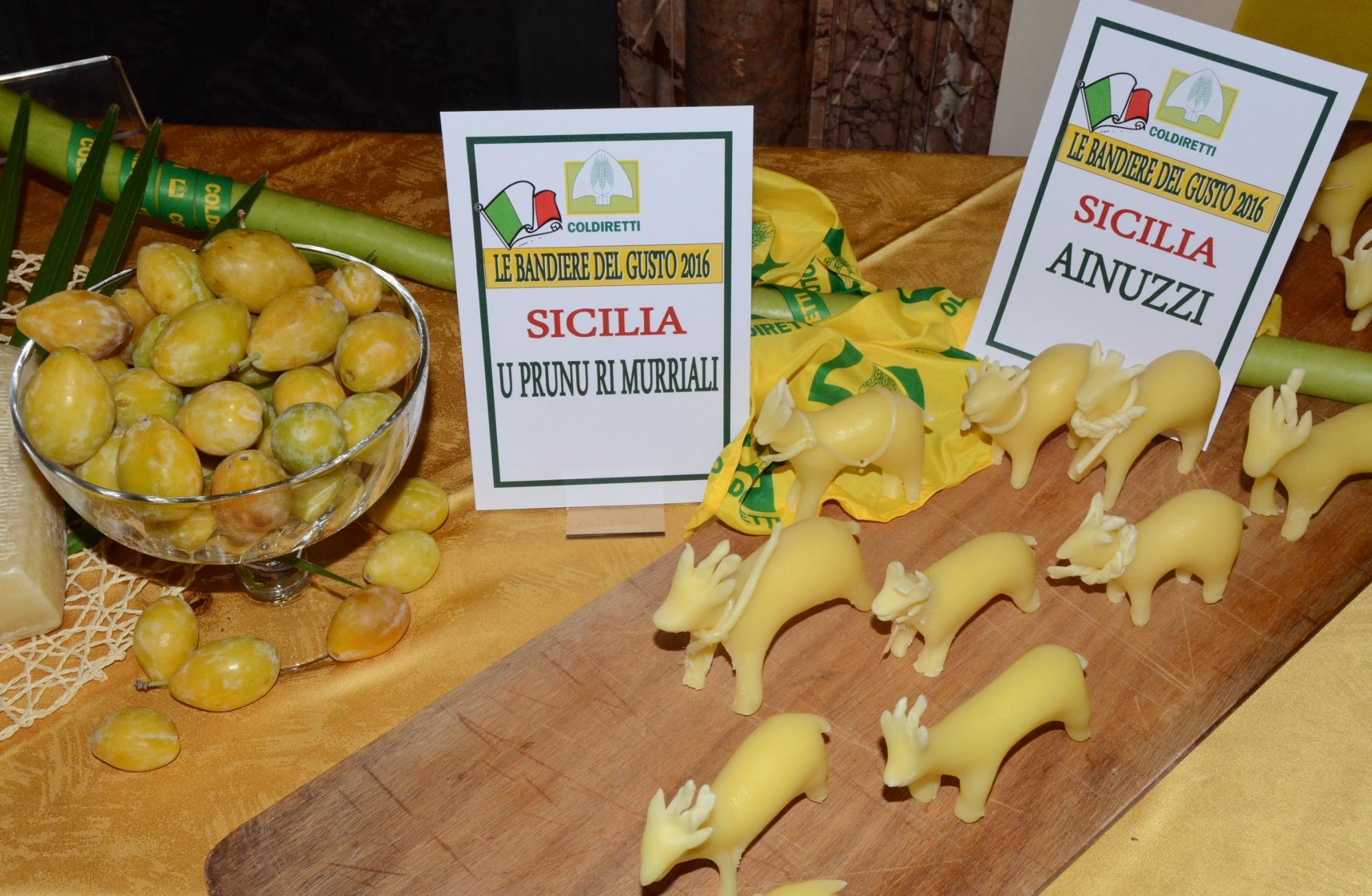 Salgono a 5056 le bandiere del gusto nel 2018: in Sicilia 245