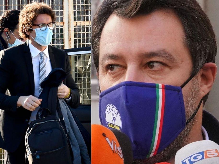 """Gregoretti, Toninelli accusa Salvini e lui:""""Tu dormivi ?"""" Scontro davanti al Gup di Catania"""