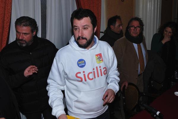Sabato Salvini a Lampedusa: