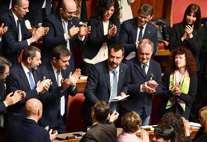 Diciotti, il Senato nega l'autorizzazione a procedere contro Salvini