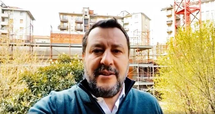 """Salvini a Rtl ribadisce: """"Chiediamo un incontro con il presidente della Repubblica"""""""