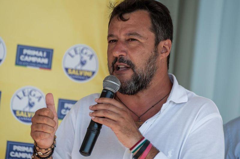 Gregoretti, Matteo Salvini imputato: raduno della Lega a Catania