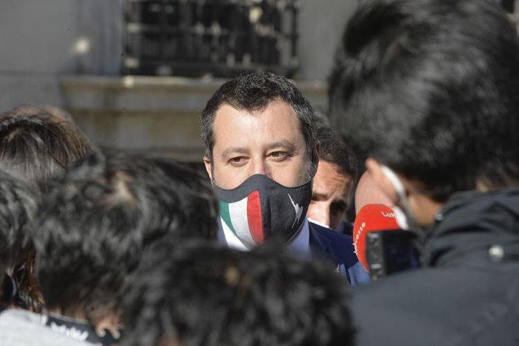 """Salvini sul caso Open Arms a Palermo: """"Si usa il Tribunale per fare politica"""""""