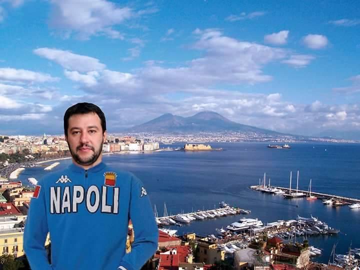 Salvini a Napoli: l'Ente Mostra blocca l'allestimento della sala