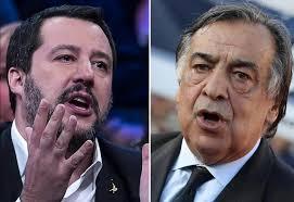 """Migranti, Salvini replica al sindaco di Palermo Orlando: """"Ho fermato la mangiatoia"""""""
