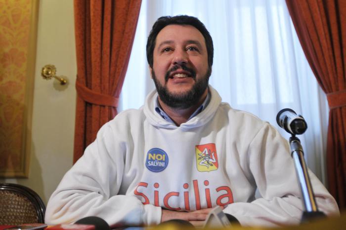 """""""La Sicilia nell'Italia che vogliamo"""", Matteo Salvini a Palermo"""