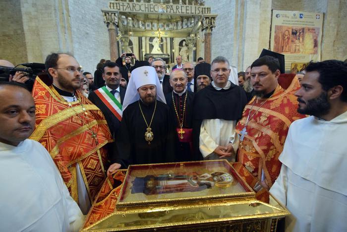 Reliquia di San Nicola a Mosca: è la prima volta dopo 330 anni