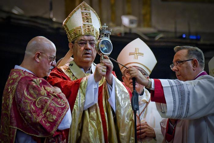 Napoli, si è ripetuto il prodigio del miracolo di San Gennaro
