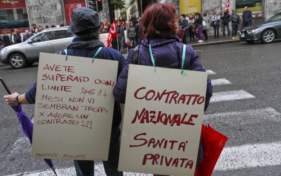 Sanità privata in Sicilia, sciopero dei sindacati il prossimo 16 settembre