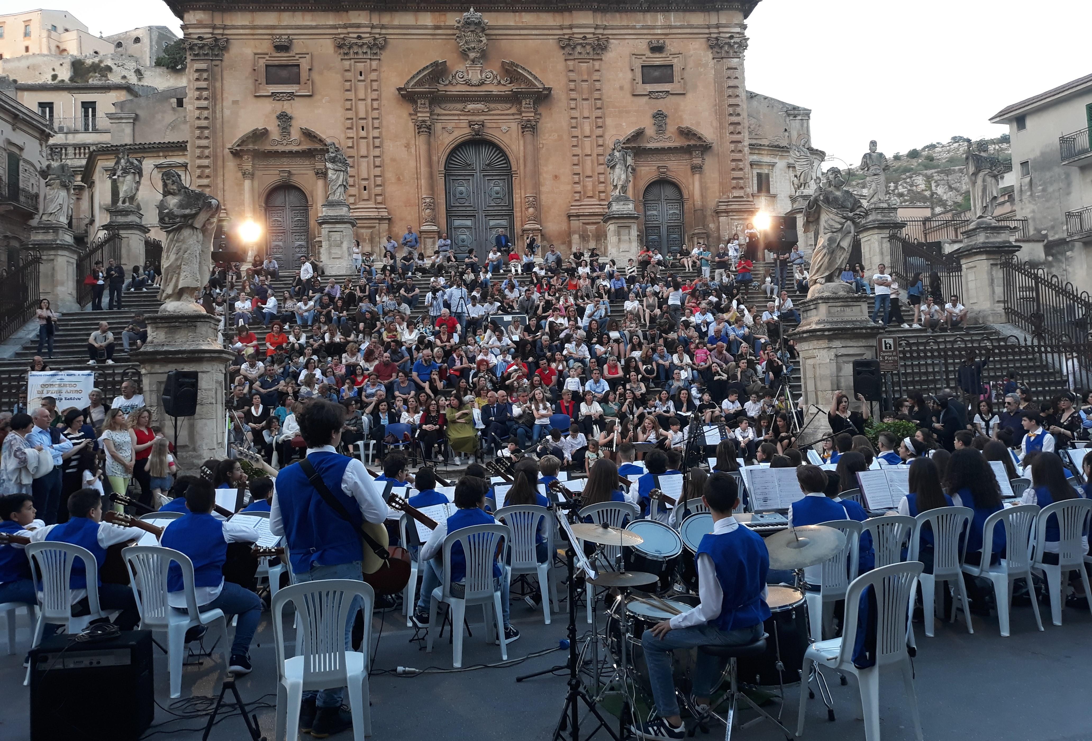 Modica, concerto di fine anno dei piccoli musicisti della scuola Santa Marta-Ciaceri