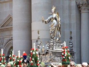 """Siracusa, domani la processione di Santa Lucia per """"l'Ottava"""""""