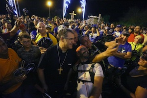 "Palermo celebra Santa Rosalia, in quarantamila per ""acchianata"""