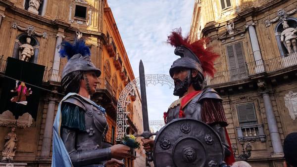 Festino di Santa Rosalia, celebrata messa a Palazzo delle Aquile