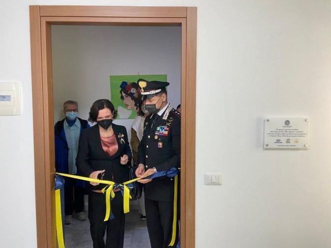 Stanza per le audizioni protette inaugurata a Santo Stefano Camastra