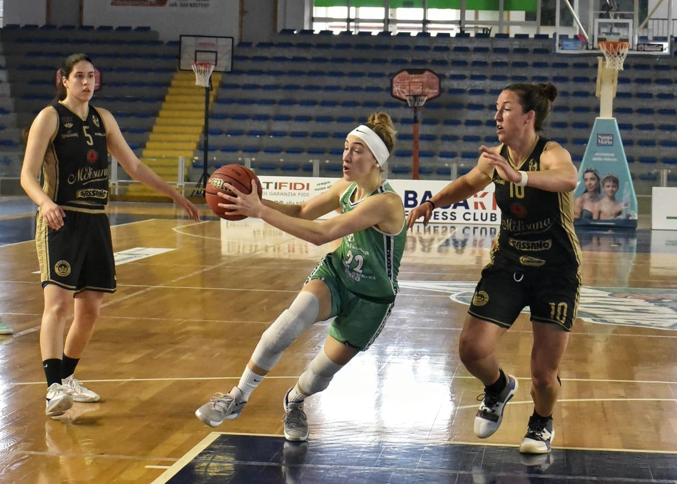 Basket donne, Ragusa trascinato da Harrison: battuto il Campobasso