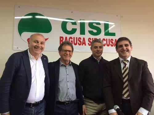 Augello segretario generale del Presidio Ragusa Siracusa Flaei Cisl