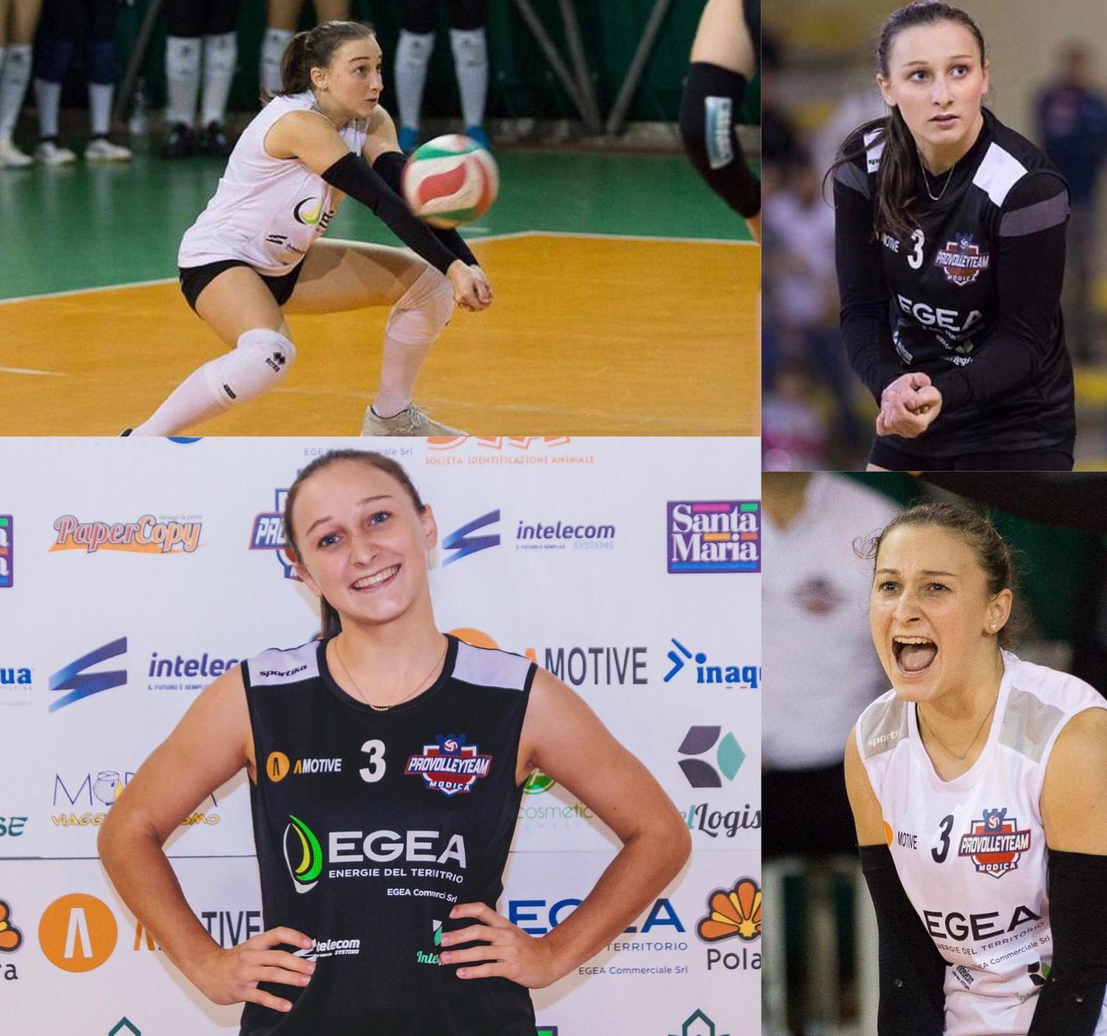 Pallavolo, B1 femminile, terza riconferma per la Pvt Modica: è il libero Sara Asero