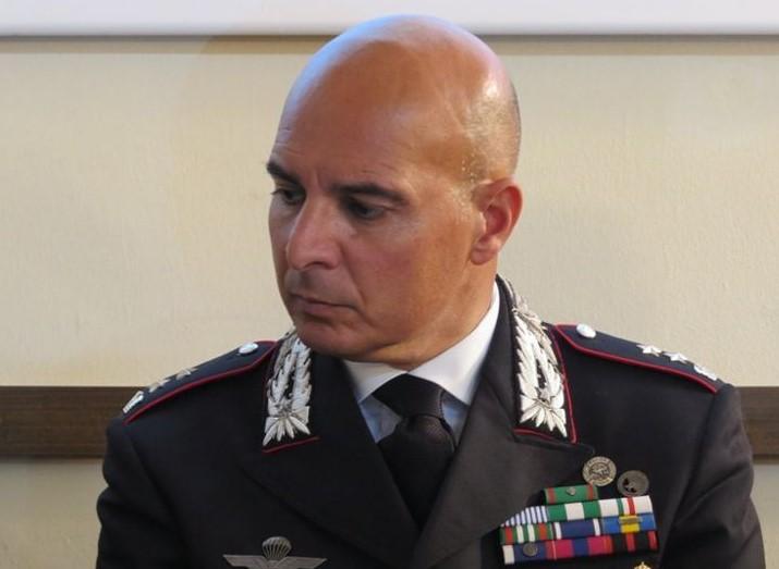 Carabinieri di Enna, Saverio Lombardi è il  nuovo comandante