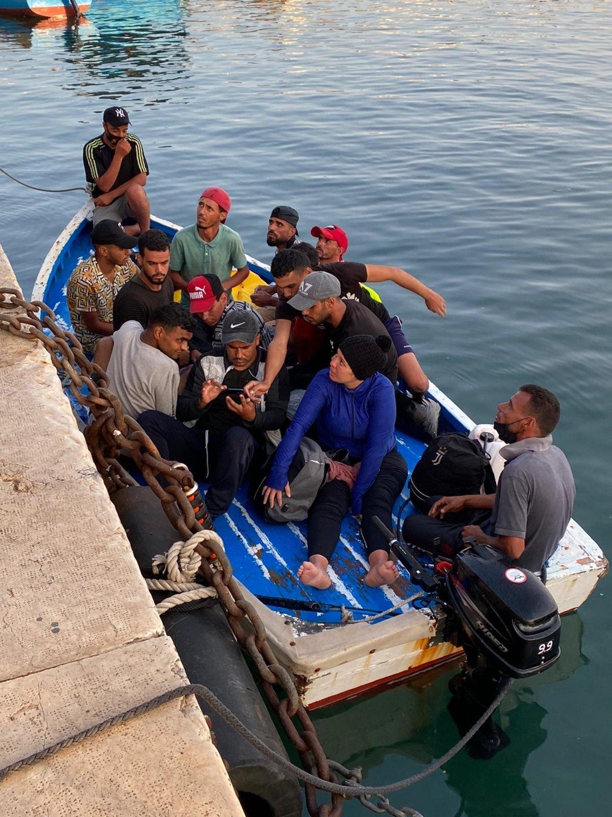 Due barchini approdano a Lampedusa, sbarcati 48 migranti