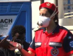 Arrivati a Porto Empedocle trecento migranti,  133 con la scabbia
