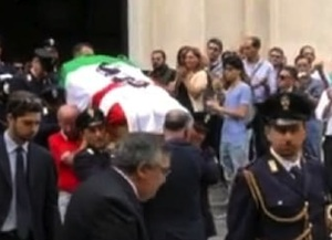 Il poliziotto morto in un incidente in Piemonte, funerali celebrati a Palermo