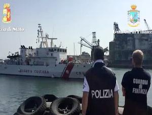 Lo sbarco di ieri a Catania, arrestati 5 presunti scafisti