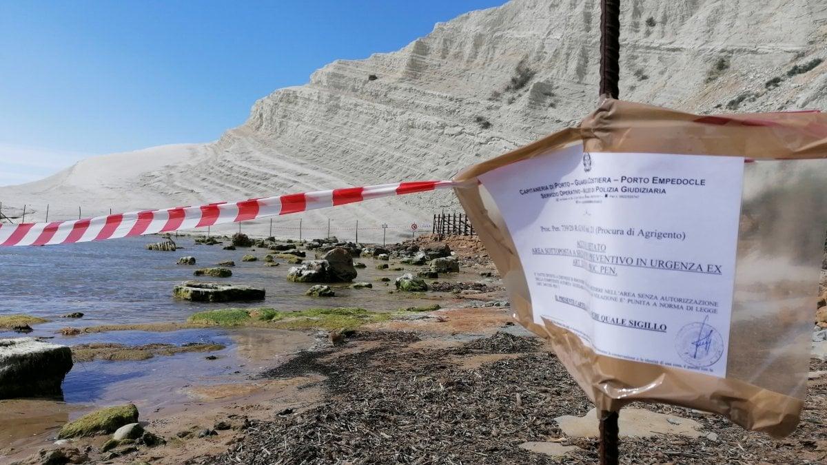 Mareamico Agrigento denuncia: sigilli violati alla Scala dei Turchi