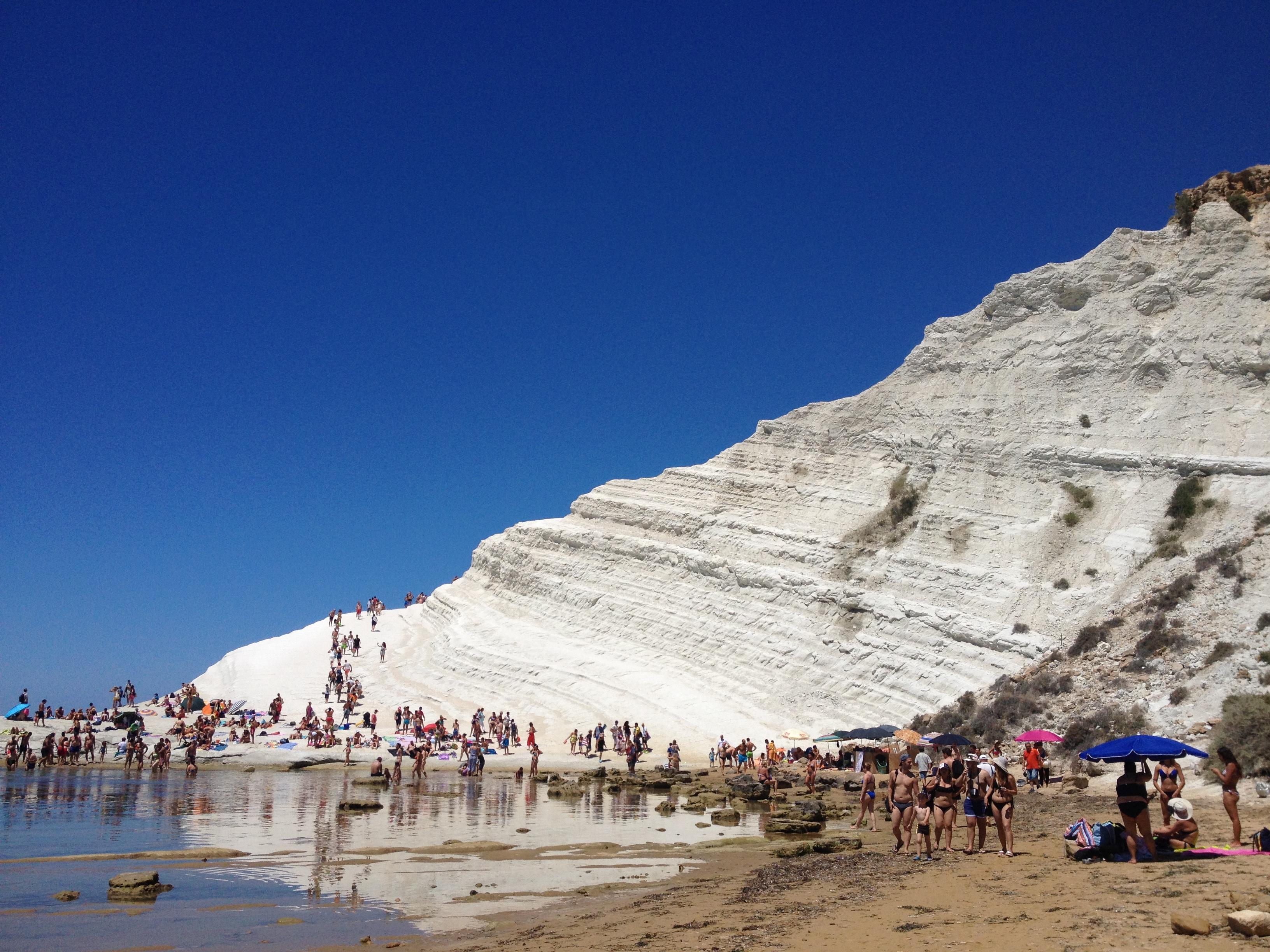 Realmonte, dopo 5mesi torna fruibile la spiaggia di Scala dei Turchi